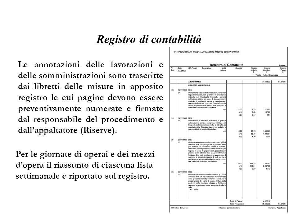 Registro di contabilità