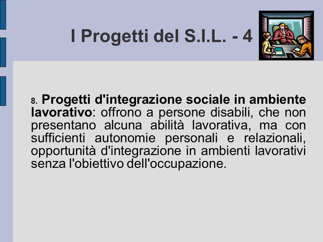 I Progetti del S.I.L. - 4