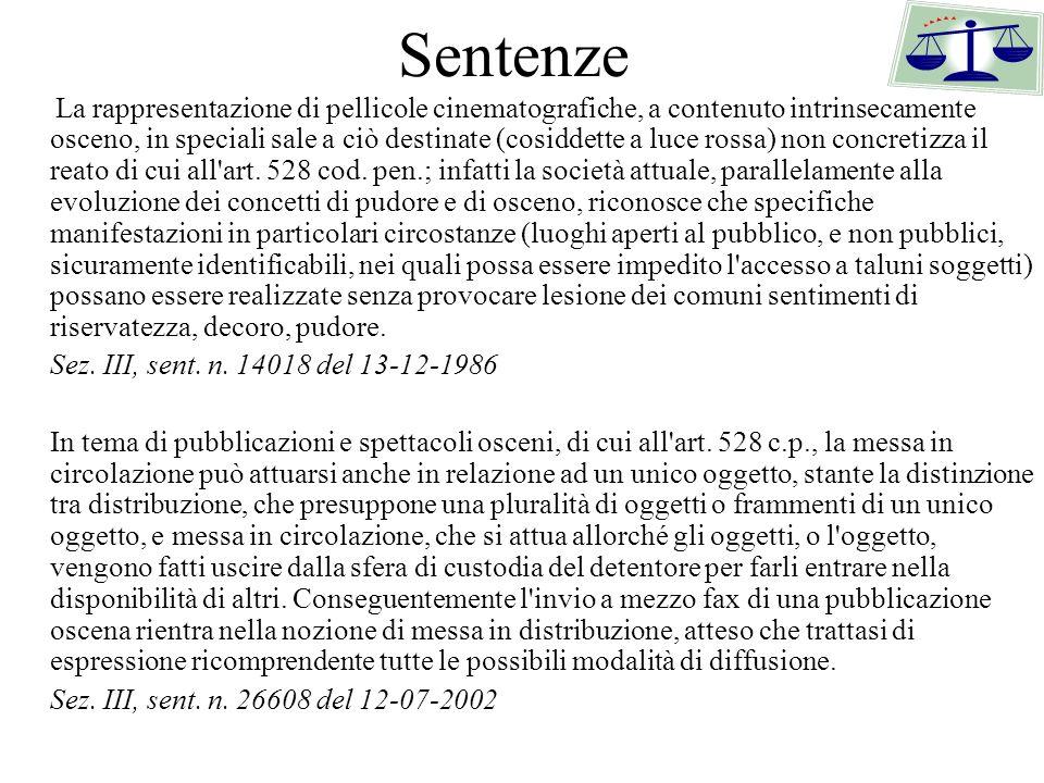 Sentenze Sez. III, sent. n. 14018 del 13-12-1986