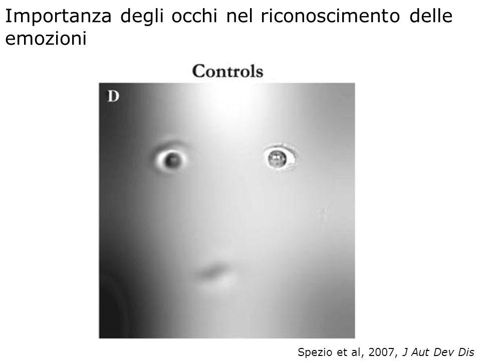 Importanza degli occhi nel riconoscimento delle emozioni