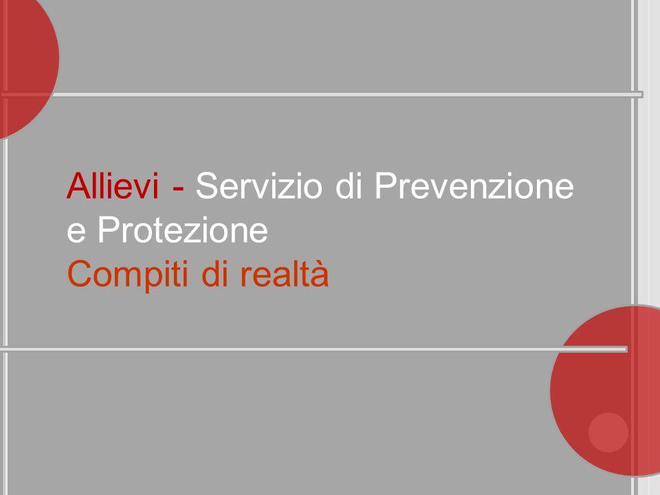 Allievi - Servizio di Prevenzione