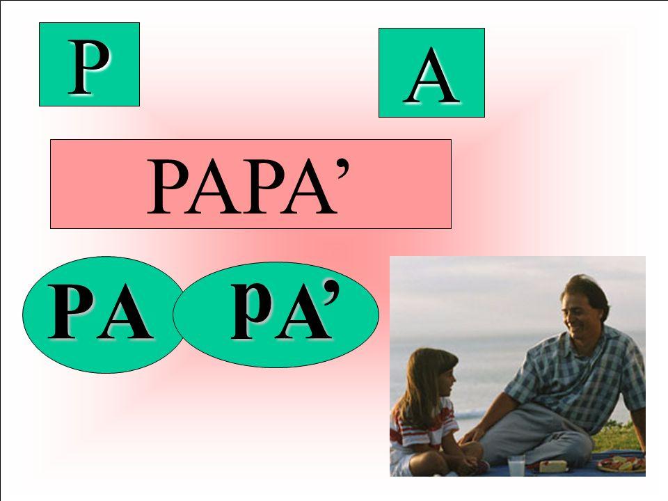P A PAPA' ' p P A A