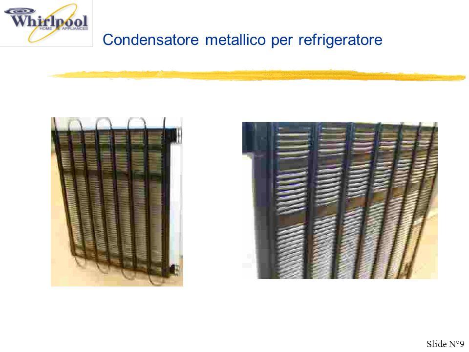 Condensatore metallico per refrigeratore
