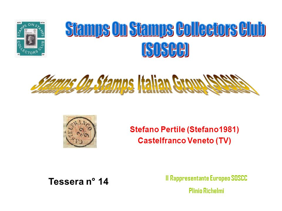 Stamps On Stamps Collectors Club (SOSCC)