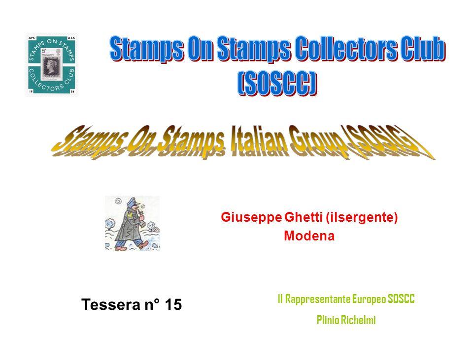 Giuseppe Ghetti (ilsergente) Il Rappresentante Europeo SOSCC