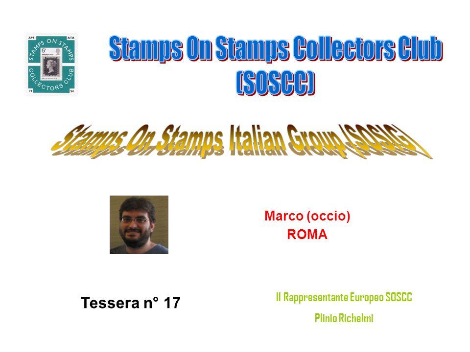 Il Rappresentante Europeo SOSCC