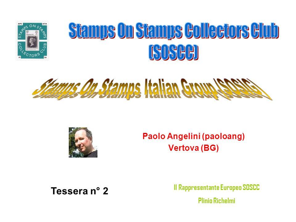 Paolo Angelini (paoloang) Il Rappresentante Europeo SOSCC