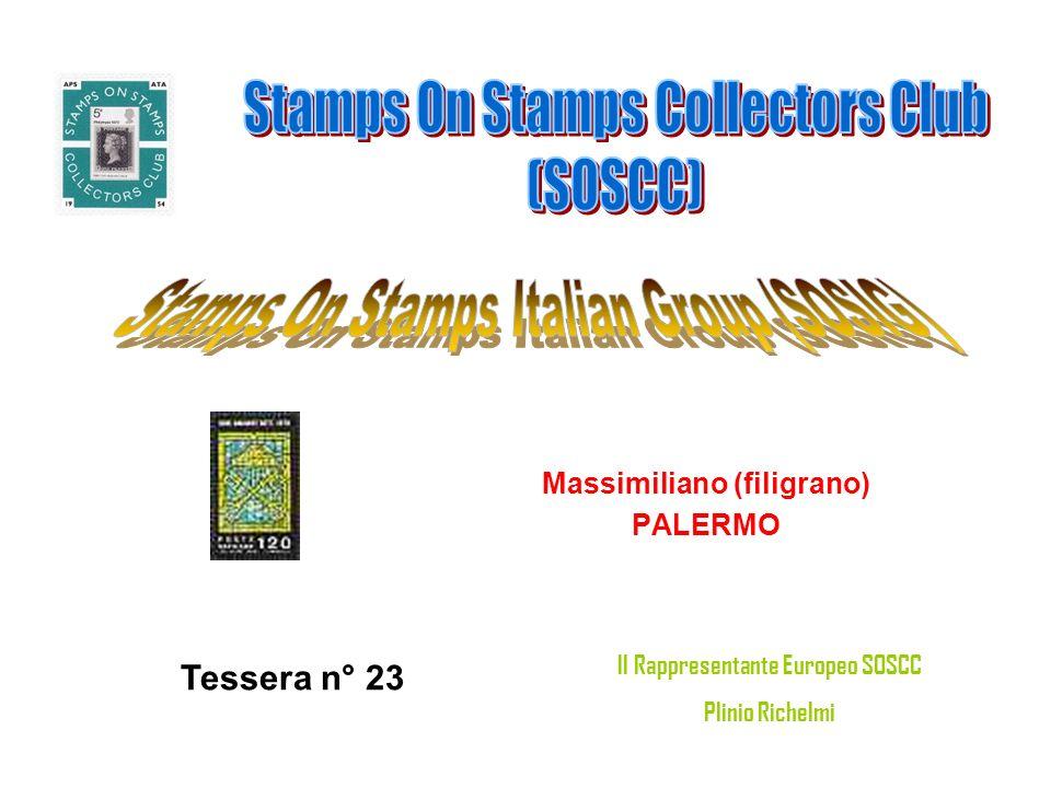 Massimiliano (filigrano) Il Rappresentante Europeo SOSCC