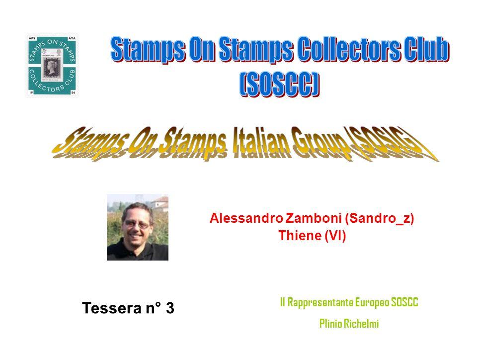 Alessandro Zamboni (Sandro_z) Il Rappresentante Europeo SOSCC