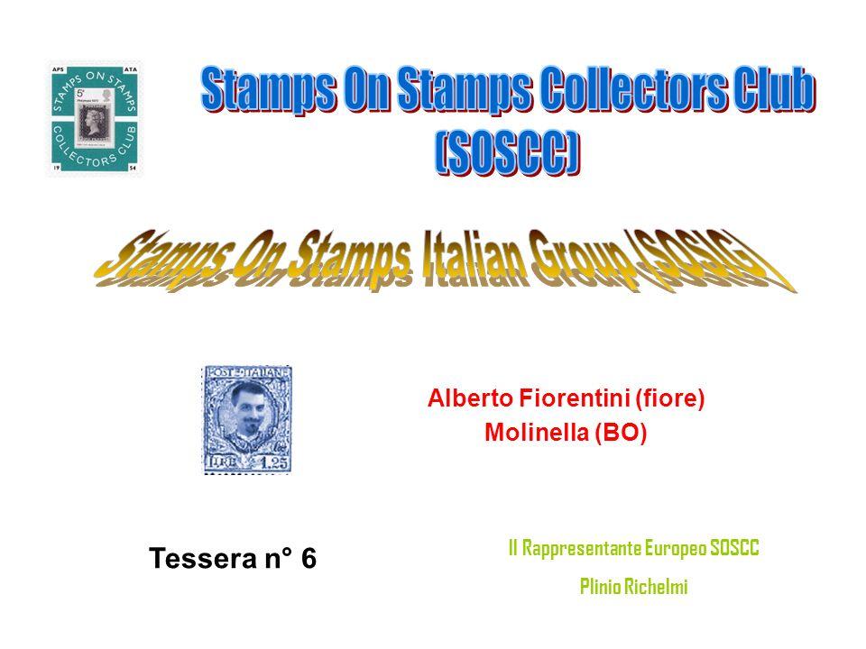 Alberto Fiorentini (fiore) Il Rappresentante Europeo SOSCC