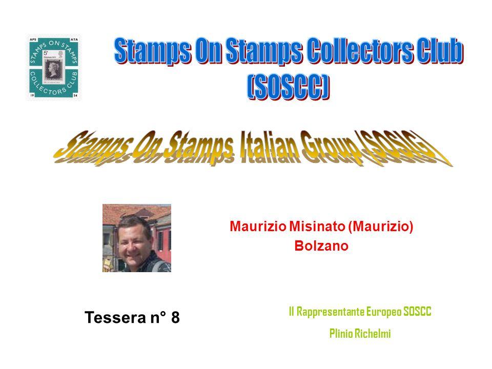 Maurizio Misinato (Maurizio) Il Rappresentante Europeo SOSCC