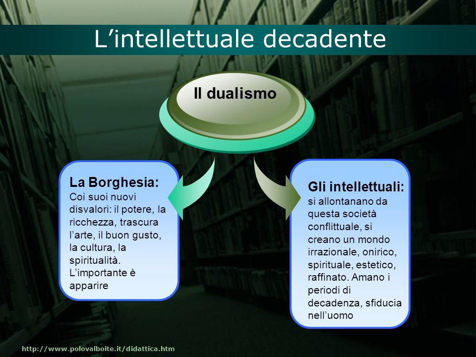 L'intellettuale decadente