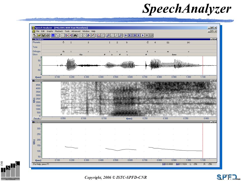 SpeechAnalyzer
