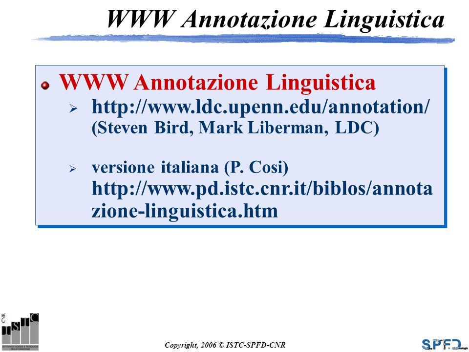 WWW Annotazione Linguistica