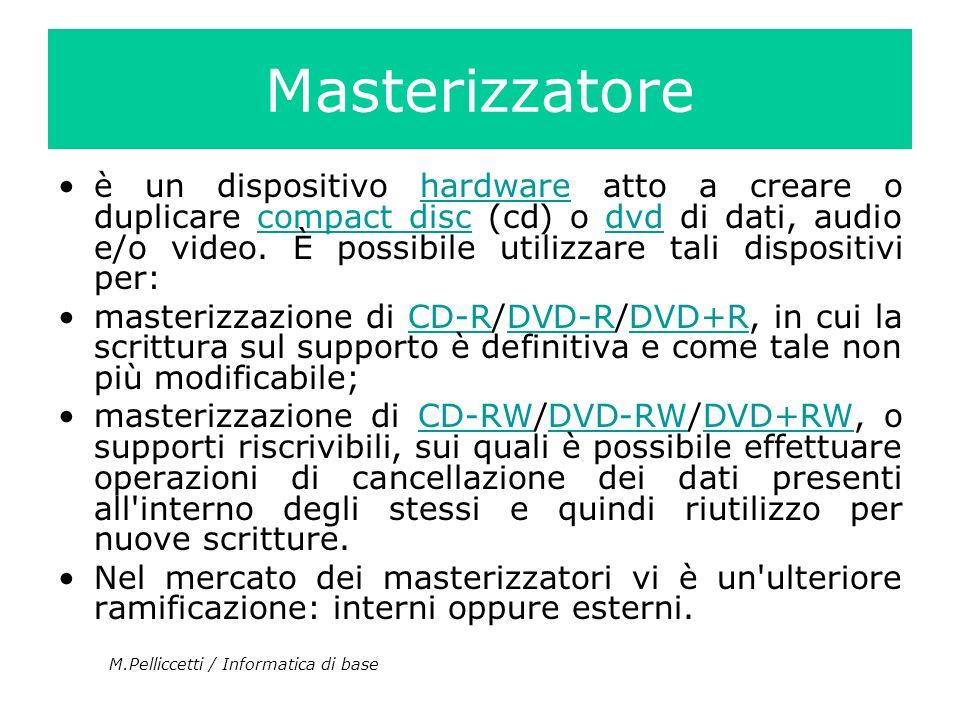 Masterizzatore