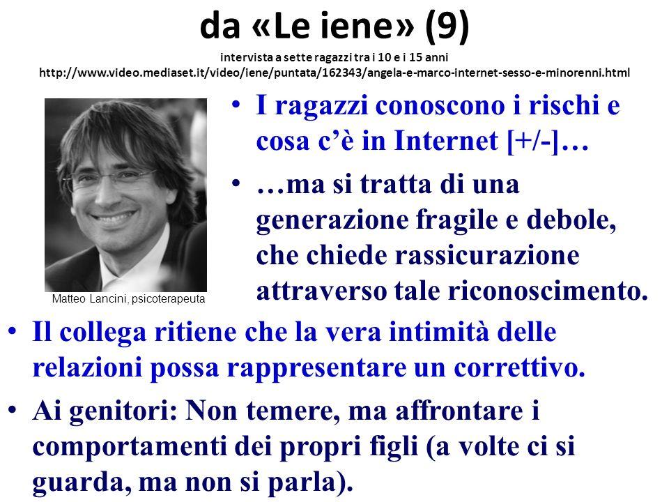 Matteo Lancini, psicoterapeuta
