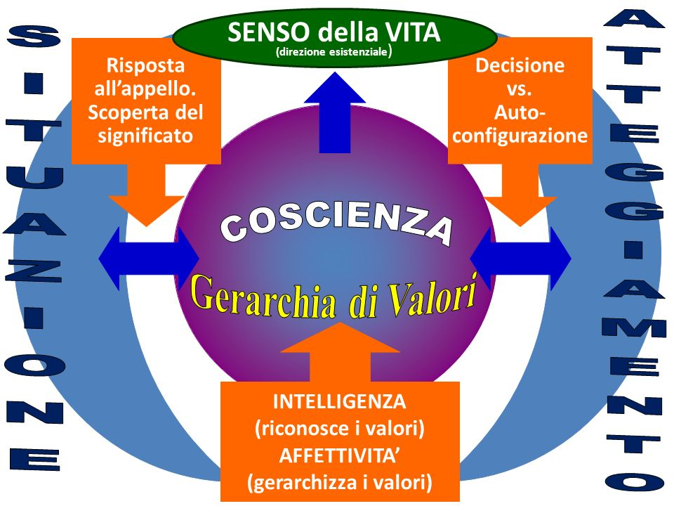 (gerarchizza i valori)