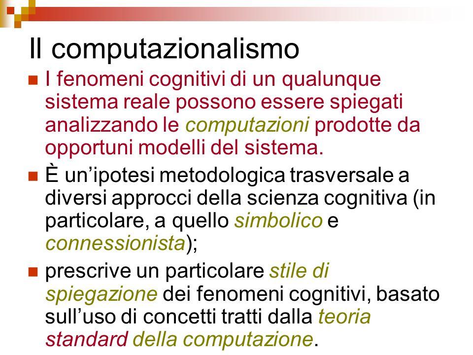 Il computazionalismo