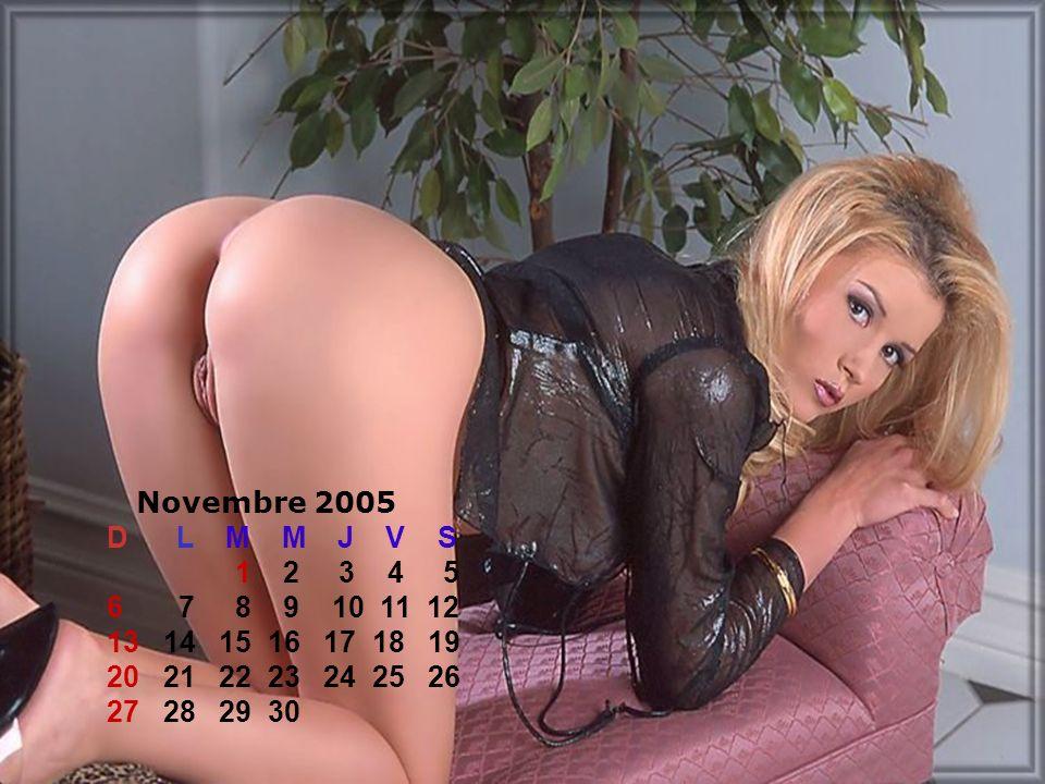 Novembre 2005 D L M M J V S.