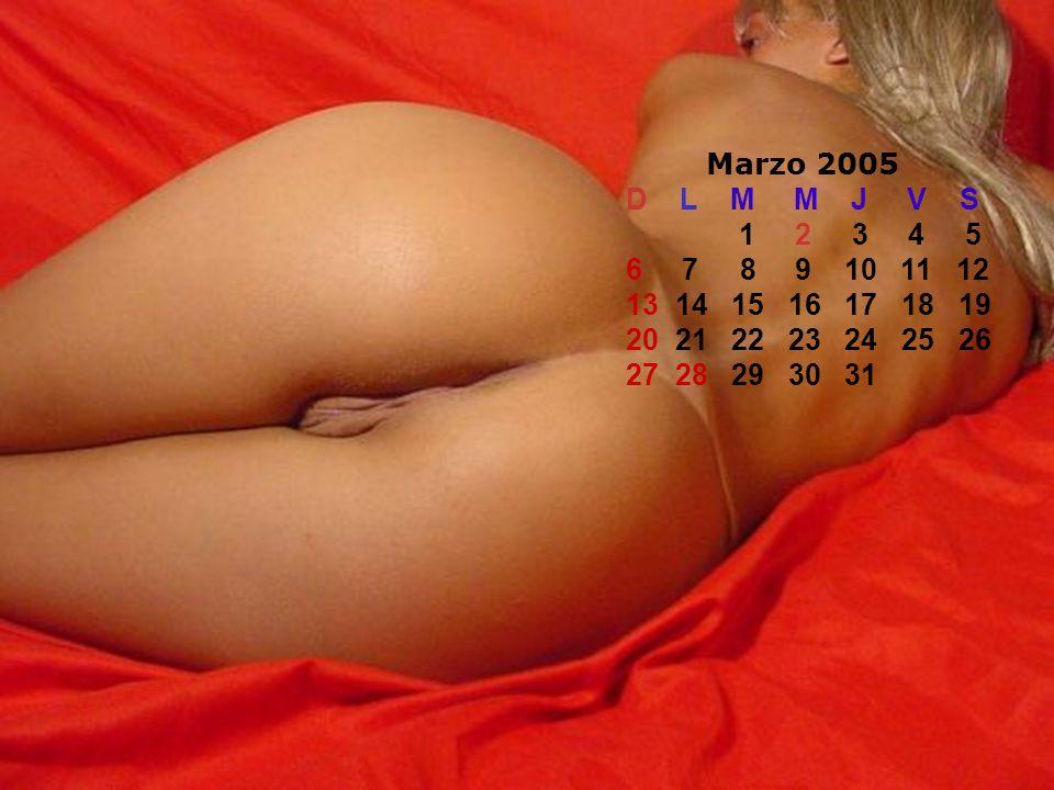 Marzo 2005 D L M M J V S.
