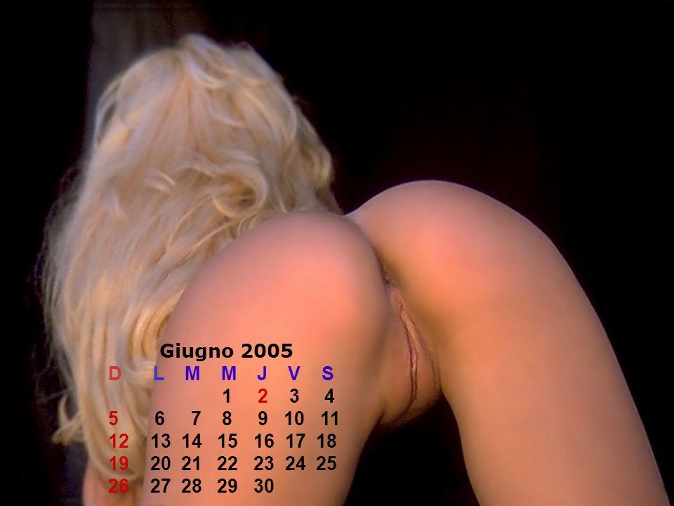 Giugno 2005 D L M M J V S.