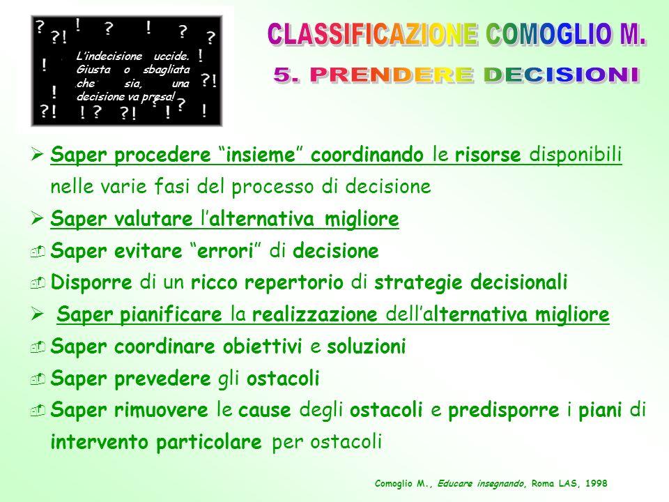 CLASSIFICAZIONE COMOGLIO M.