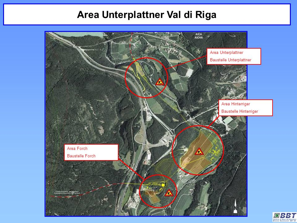 Area Unterplattner Val di Riga