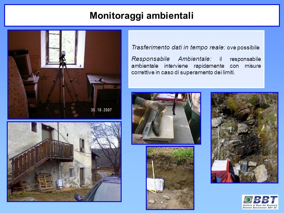 Monitoraggi ambientali