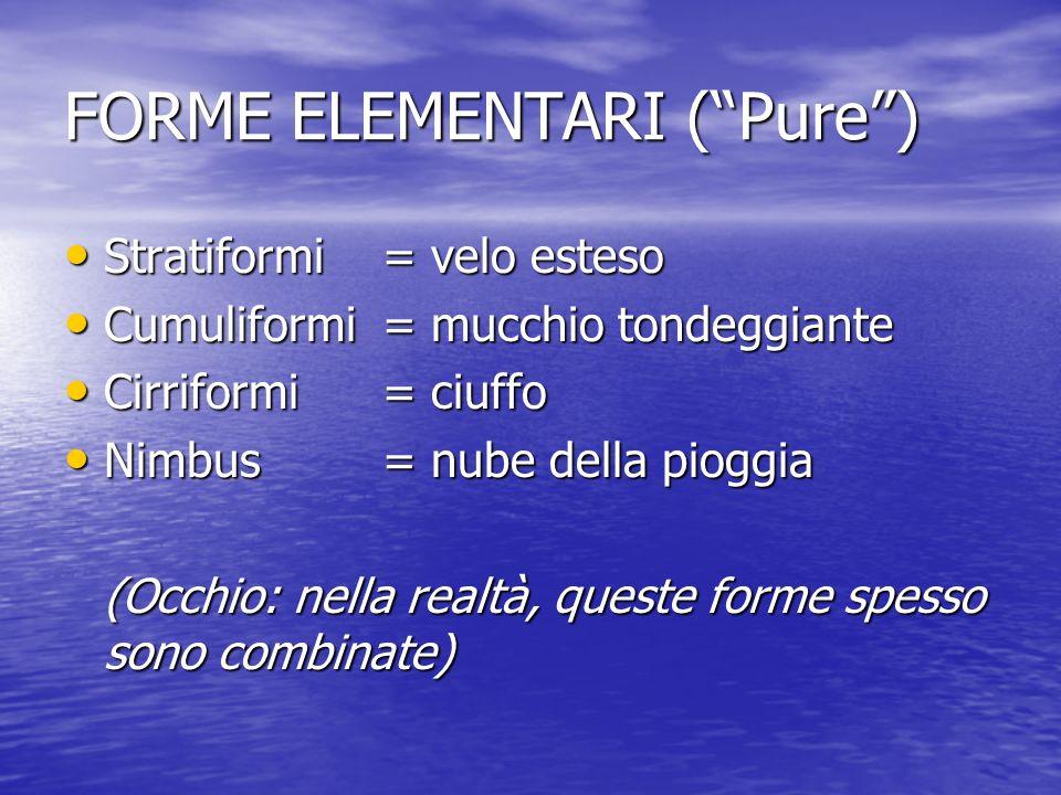 FORME ELEMENTARI ( Pure )