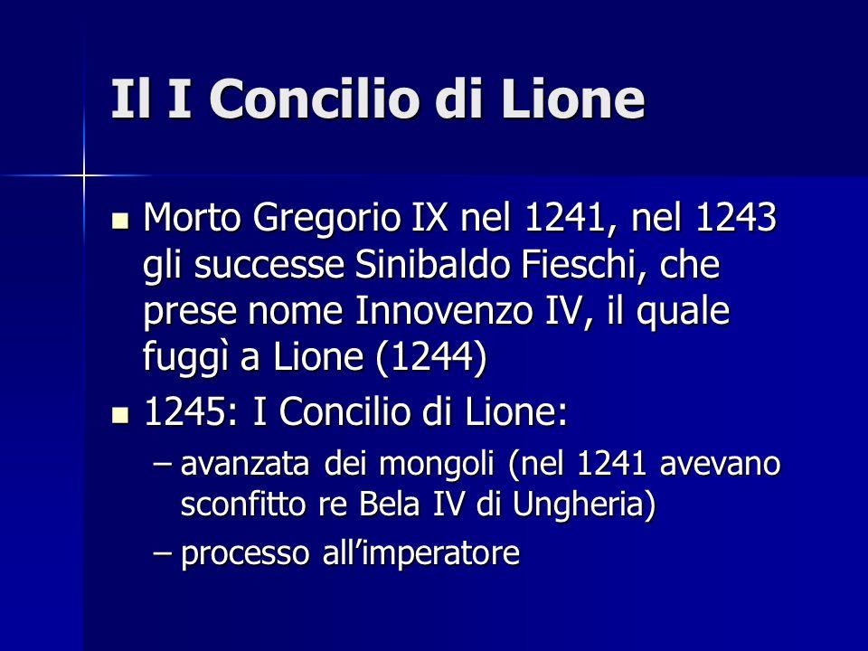 Il I Concilio di Lione