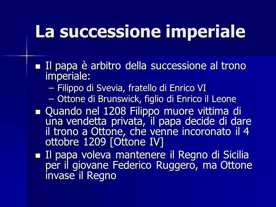 La successione imperiale