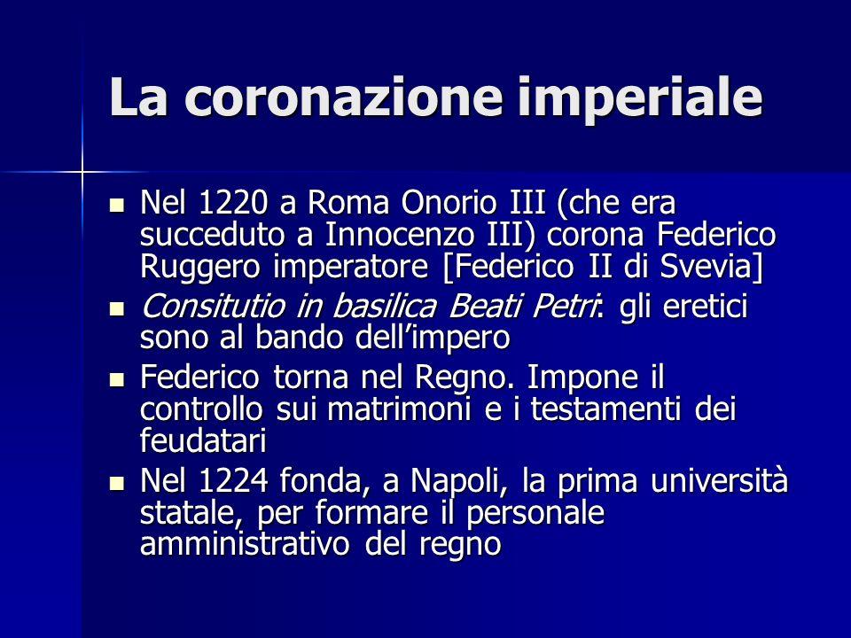 La coronazione imperiale