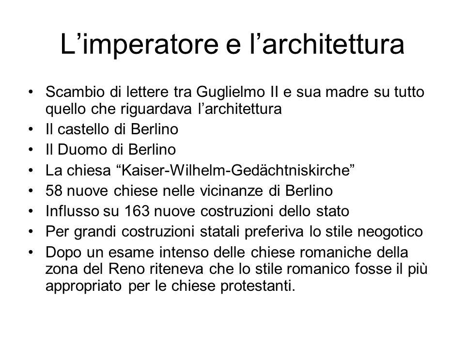 L'imperatore e l'architettura