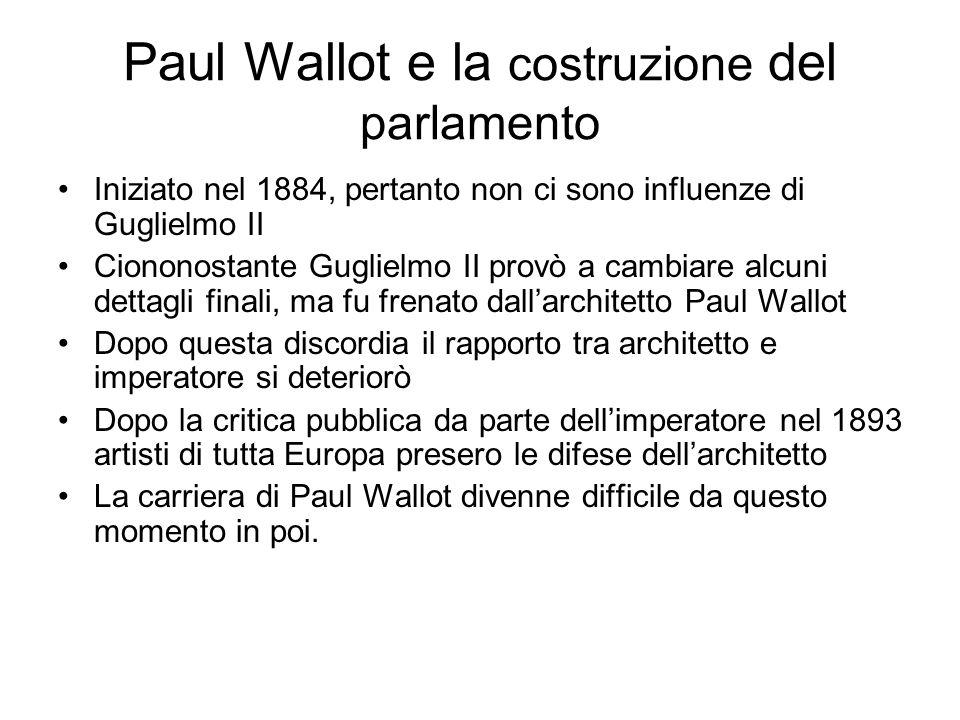 Paul Wallot e la costruzione del parlamento
