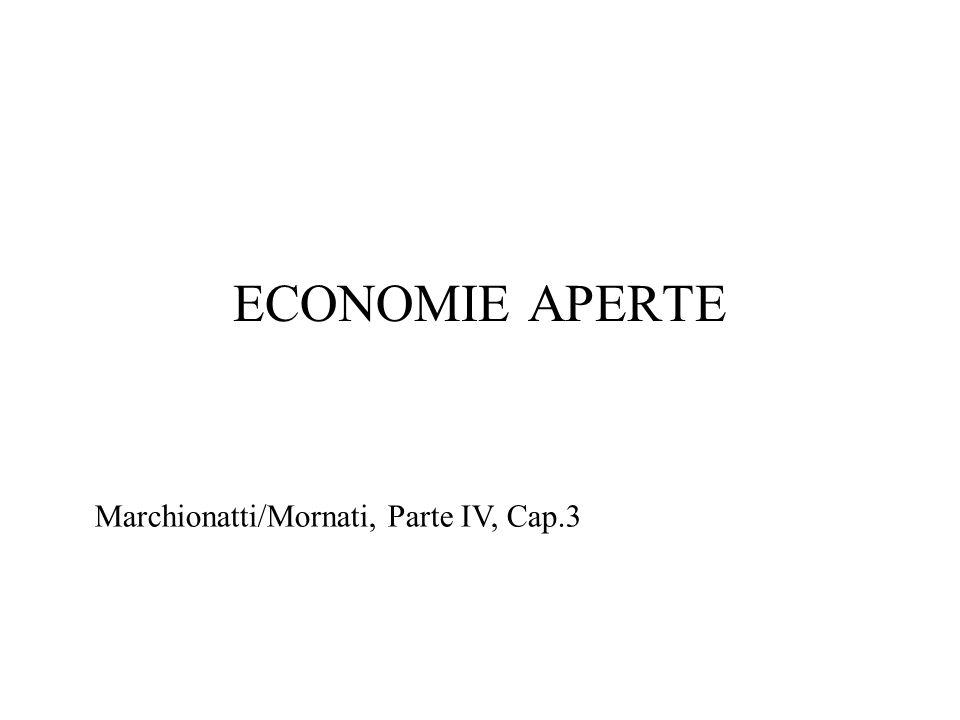 ECONOMIE APERTE Marchionatti/Mornati, Parte IV, Cap.3