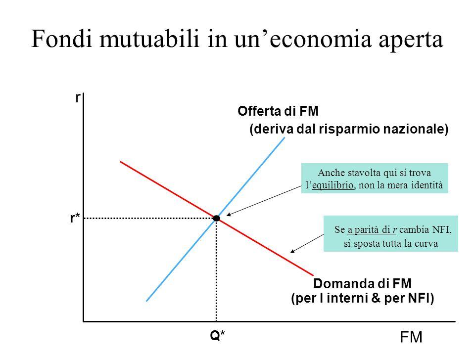 Fondi mutuabili in un'economia aperta
