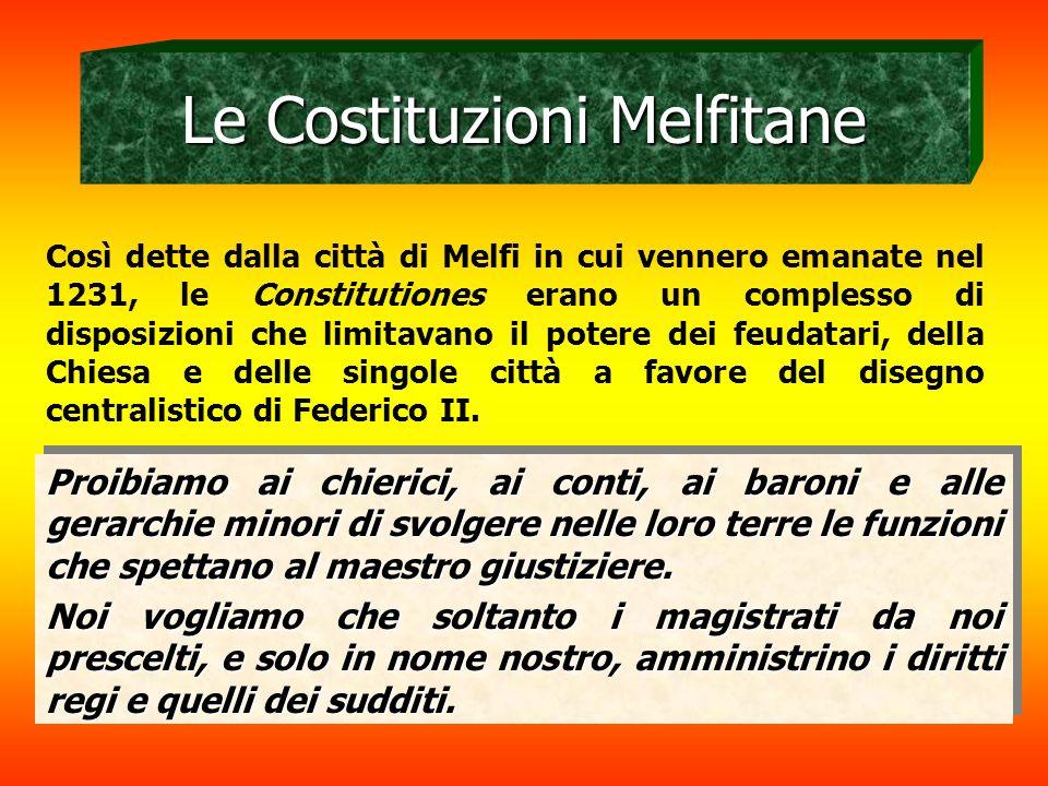 Le Costituzioni Melfitane