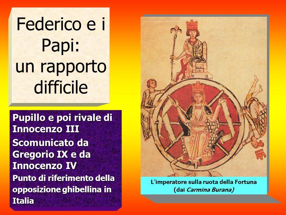 Federico e i Papi: un rapporto difficile