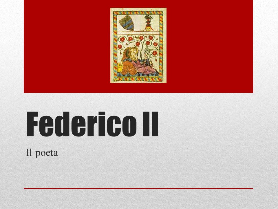 Federico II Il poeta