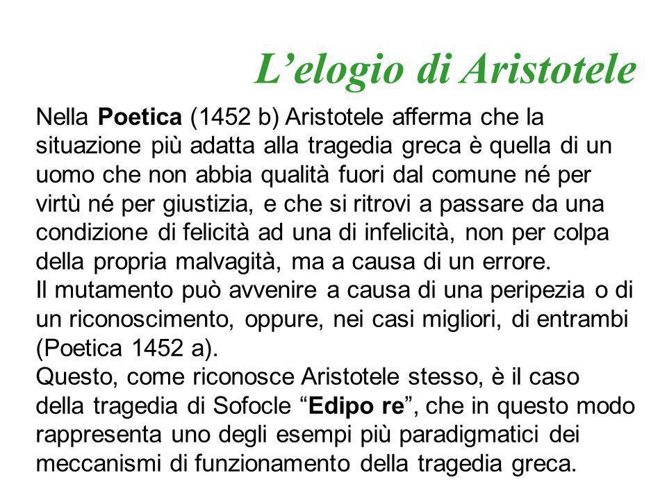 L'elogio di Aristotele