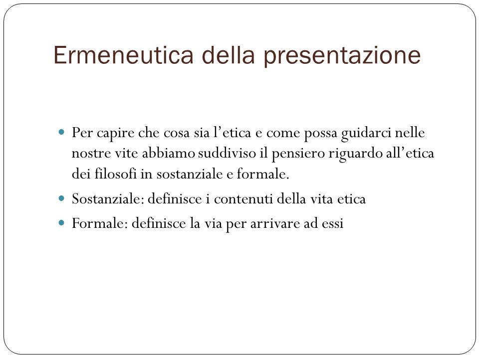 Ermeneutica della presentazione