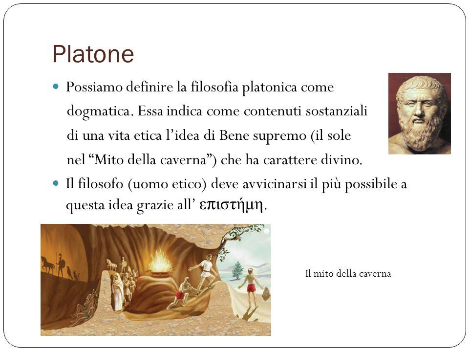 Platone Possiamo definire la filosofia platonica come