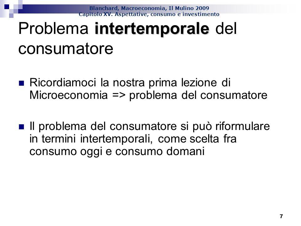 Problema intertemporale del consumatore