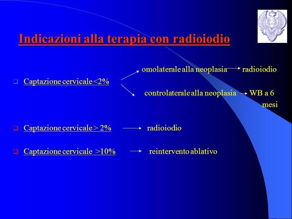 Indicazioni alla terapia con radioiodio