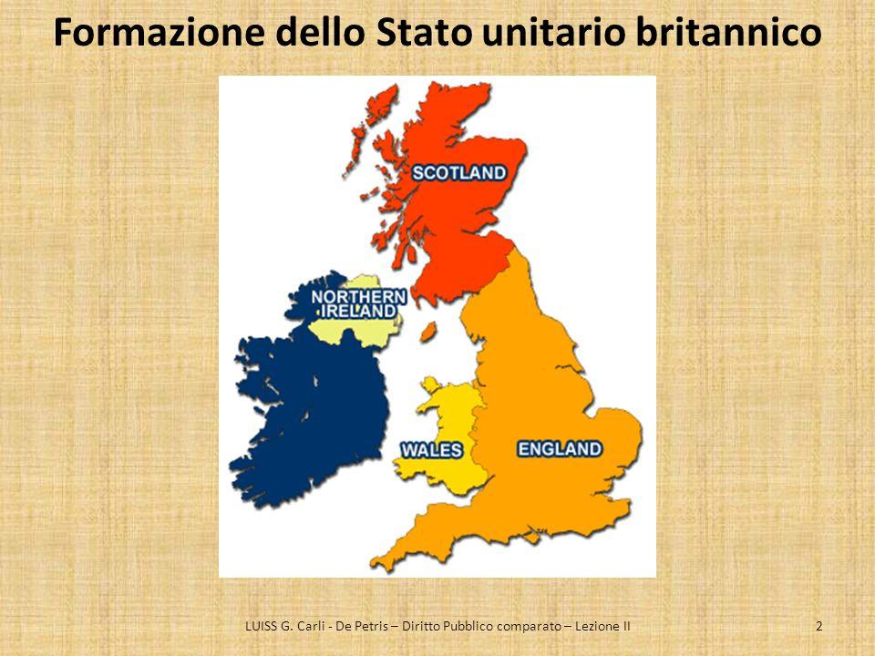 Formazione dello Stato unitario britannico