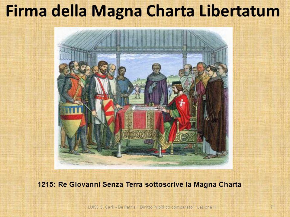 Firma della Magna Charta Libertatum