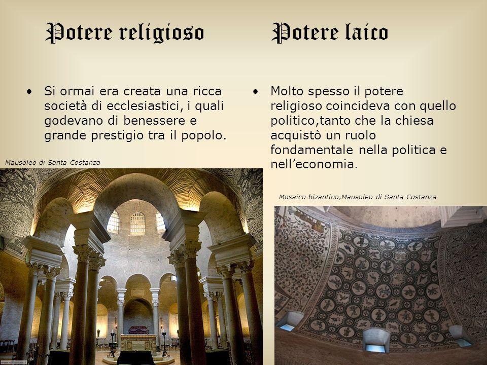 Potere religioso Potere laico