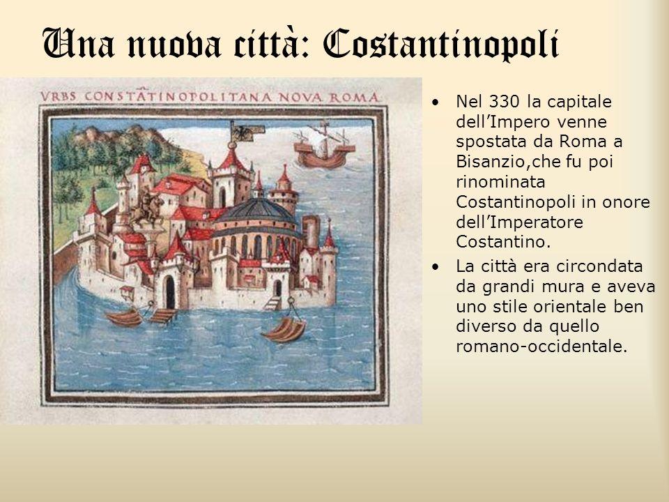 Una nuova città: Costantinopoli