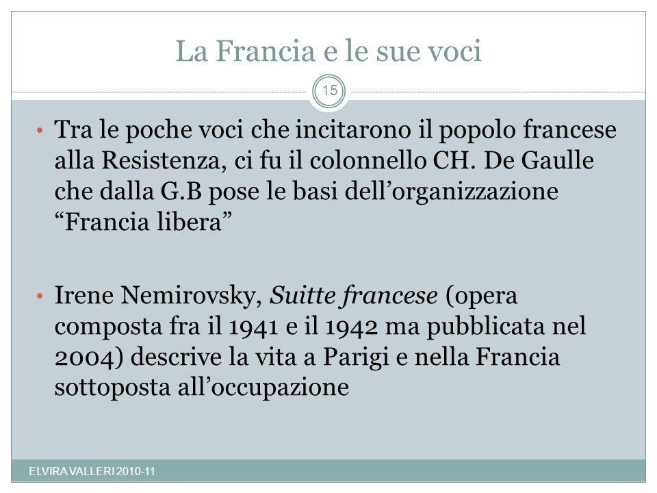 La Francia e le sue voci