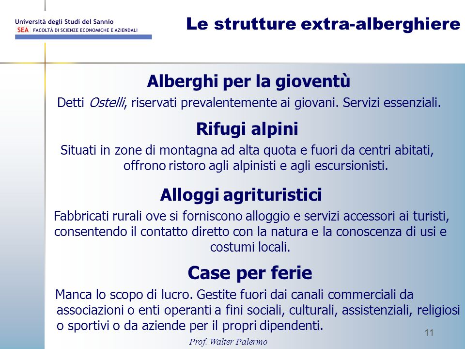 Contabilita e bilancio delle imprese turistiche ppt for Alloggio ad ovest delle cabine